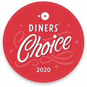 Diners' Choice 2020 Award badge