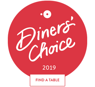Diners' Choice 2019 Award badge