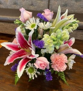 special flower arrangement for Mother's Day